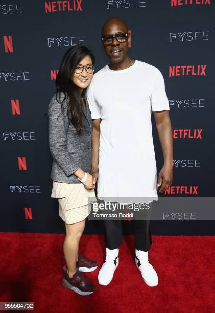 VP Original Documentary Comedy Programming for Netflix Lisa Nishimura and Dave Chappelle attend the Netflix FYSEE KickOff Event at Netflix FYSEE At...
