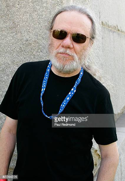 Original Drummer Tommy Ramone attends the Tribute To Legendary Ramones Guitarist Johnny Ramone at the Hollywood Forever Cemetery on August 1 2008 in...