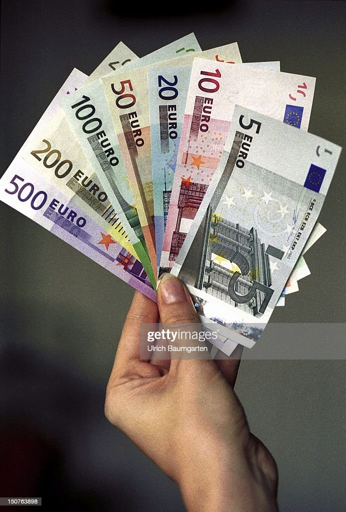 Original Euro notes  News Photo - Getty Images