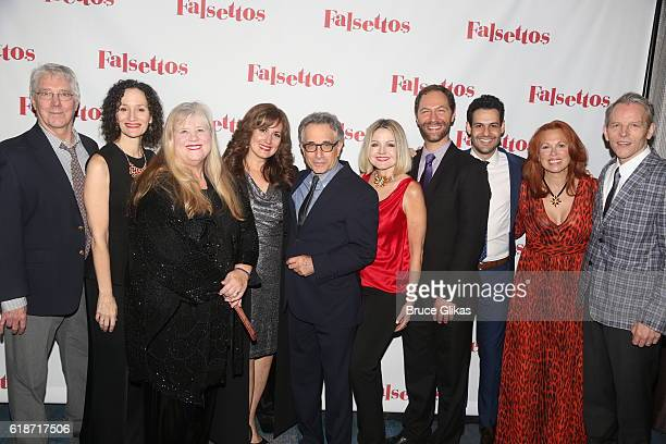 "Original ""Falsetto"" cast members Michael Rupert, Barbara Walsh, Heather McRae, Janet Metz, Chip Zien, Alison Fraser, Jonathan Kaplan, Andrew Leeds,..."