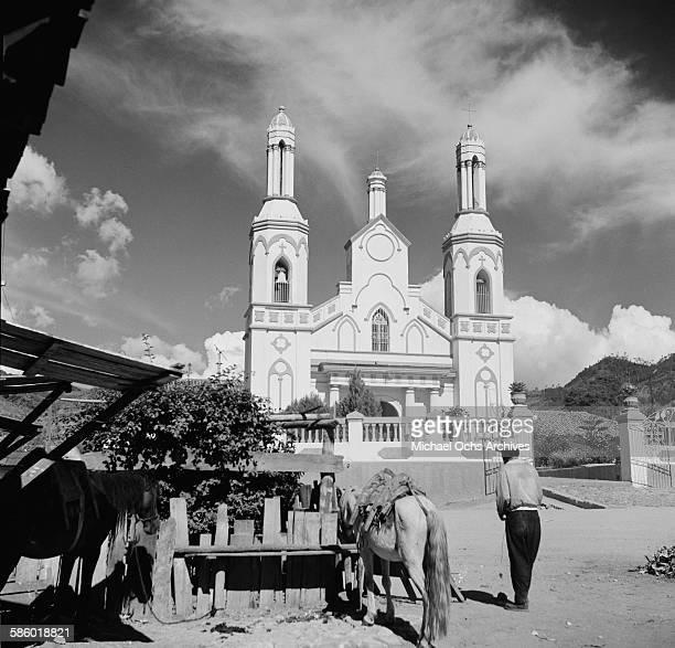 Original Holy Church Santuario de Nuestra Senora de Suyapa in Tegucigalpa Honduras