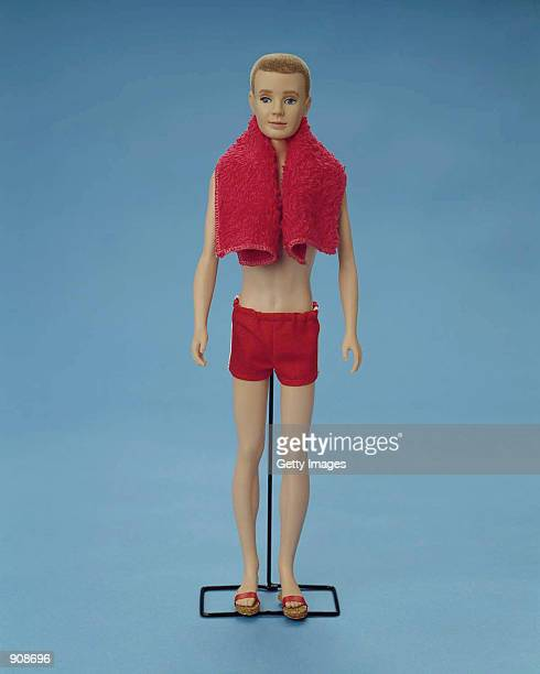 A 1961 Original Ken doll wears a bathing suit and a towel in this studio portrait On March 13 Mattel toy company celebrated the 40th anniversary of...