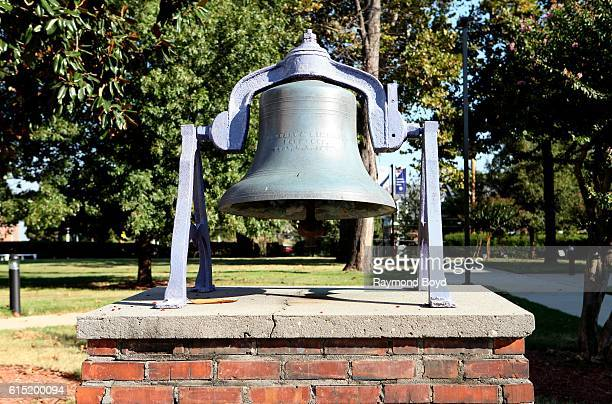 Original Lemoyne Bell Sits Outside Brownlee Hall At Lemoyne Owen News Photo Getty Images