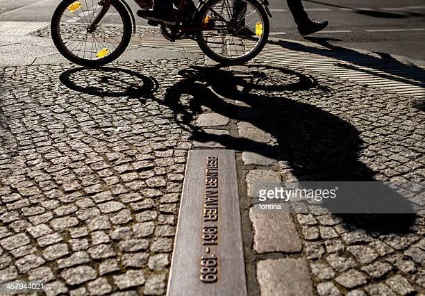 Original line of the Berlin Wall