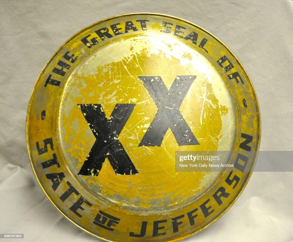 Jefferson State Seal : Fotografía de noticias
