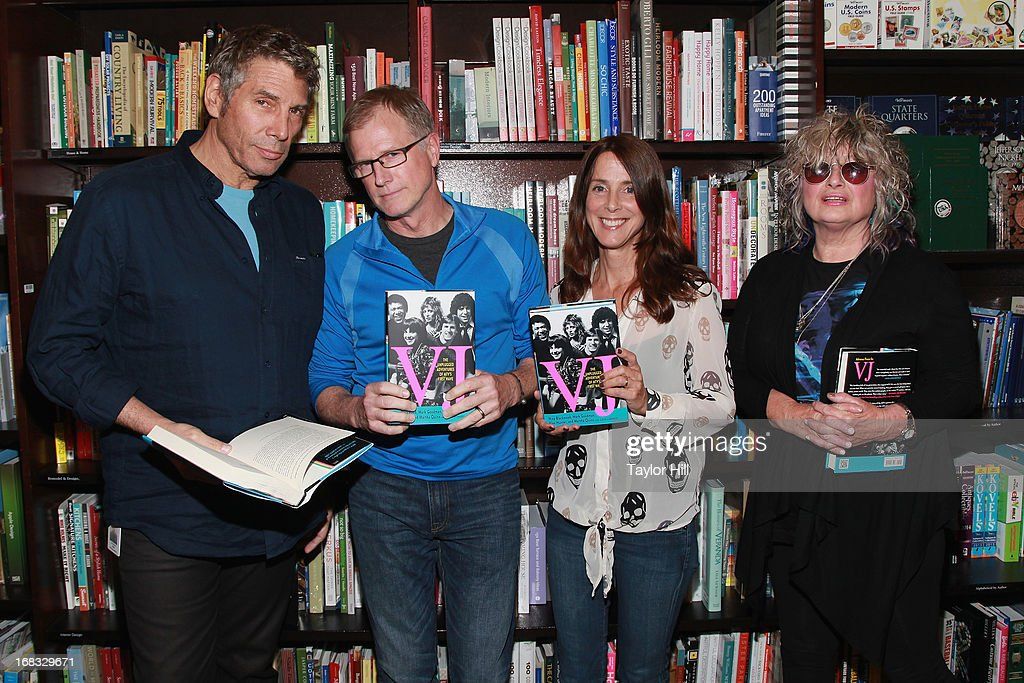 """MTV's Original VJs Sign Copies Of Their Book """"VJ: The Unplugged Adventures of MTV's First Wave"""""""