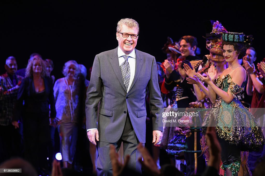 Original Phantom Michael Crawford bows onstage at 'The Phantom Of The Opera' 30th anniversary charity gala performance in aid of The Music in Secondary Schools Trust at Her Majesty's Theatre on October 10, 2016 in London, England.
