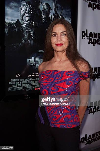 Original Planet of the Apes cast member Linda Harrison arrives for the world premiere of the 20th Century Fox film 'Planet of the Apes' at the...