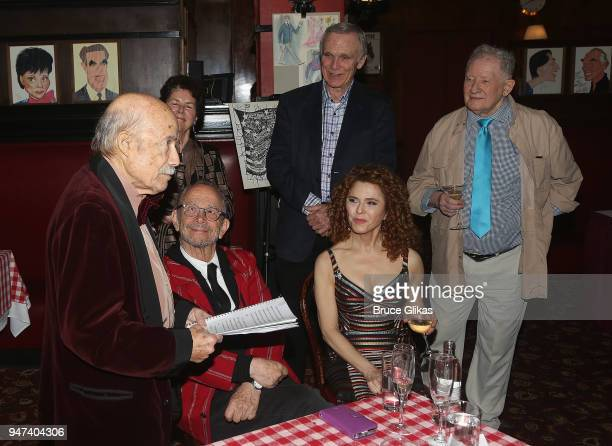 Original Producer David Black and cast at the 50th Anniversary Reunion of the cast of the legendary Broadway Musical George M at Sardis on April 16...