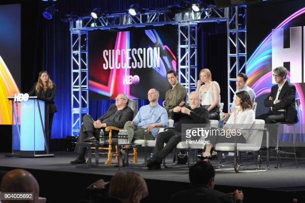 Original Programming HBO EVP Drama Programming Francesca Orsi and actors Kieran Culkin Sarah Snook Jeremy Strong Brian Cox creator Jesse Armstrong...