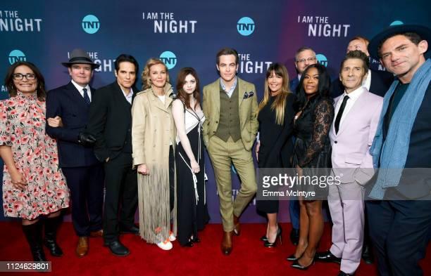 Original Programming TNT Sarah Aubrey, Jefferson Mays, Yul Vazquez, Connie Nielsen, India Eisley, Chris Pine, Patty Jenkins, Sam Sheridan, Golden...