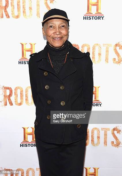 Original 'Roots' cast member Olivia Cole attends the Roots night one screening at Alice Tully Hall Lincoln Center on May 23 2016 in New York City