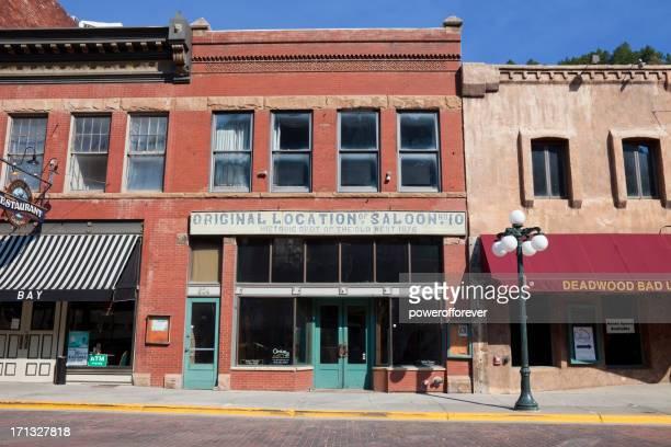 original saloon no.10 - deadwood, south dakota - deadwood south dakota stock pictures, royalty-free photos & images