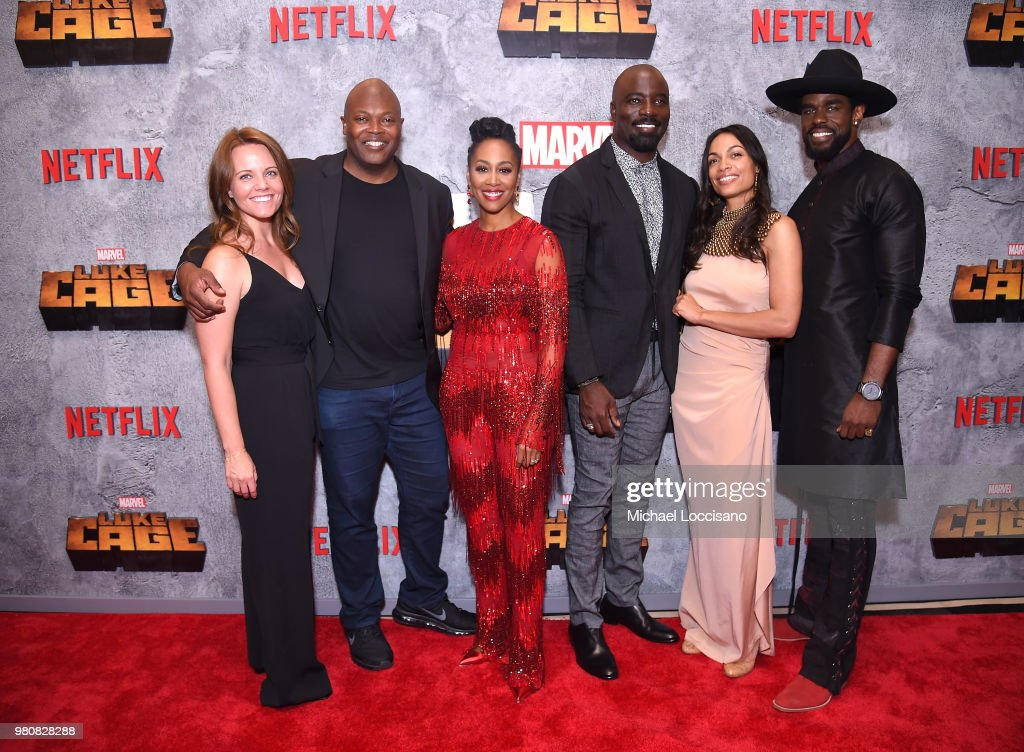 Netflix Original Series Marvel's Luke Cage Season 2 New York City Premiere : News Photo
