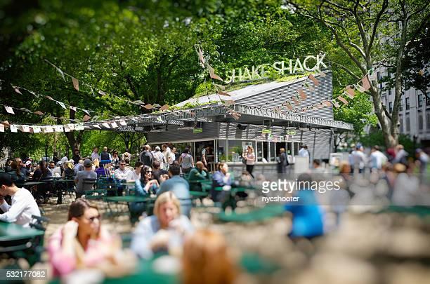 Original Shake Shack in Madison Square Park