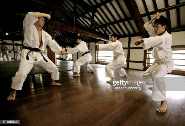 original shorinji kempo dojo, founded in 1947 - 1947 stock pictures, royalty-free photos & images