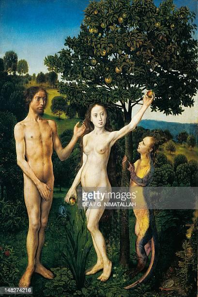 Original sin by Hugo van der Goes Vienna Kunsthistorisches Museum