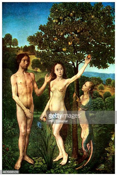 The Fall of Adam and Eve c14671468 From the Kunsthistorisches Museum Vienna A print from Ideas a volume about the origin and early history of many...