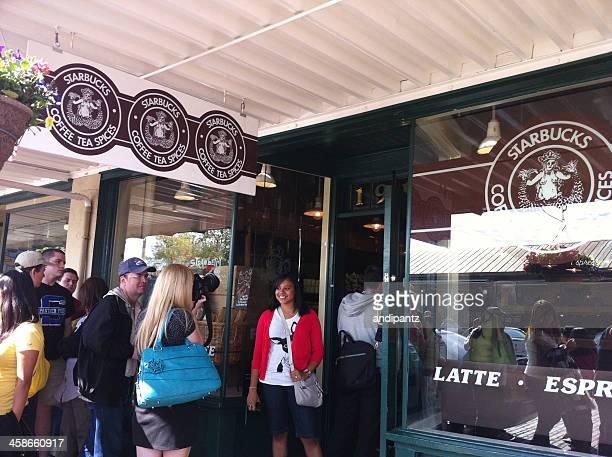 Original Starbucks shop