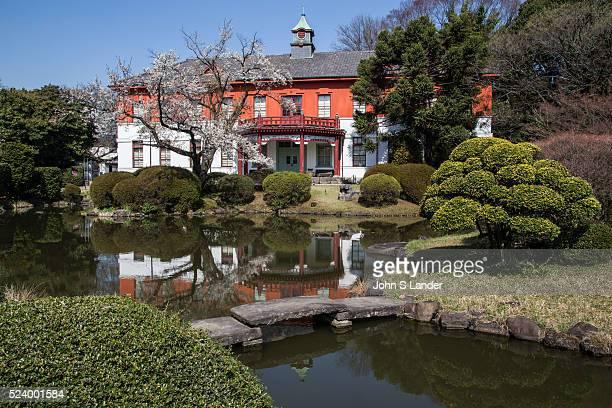 Original Tokyo University School of Medicine Meiji Period Building at Koishikawa Botanical Garden is still maintained by University of Tokyo its...