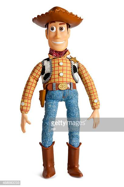 original toy story woody cowboy doll - toy story stock photos and pictures
