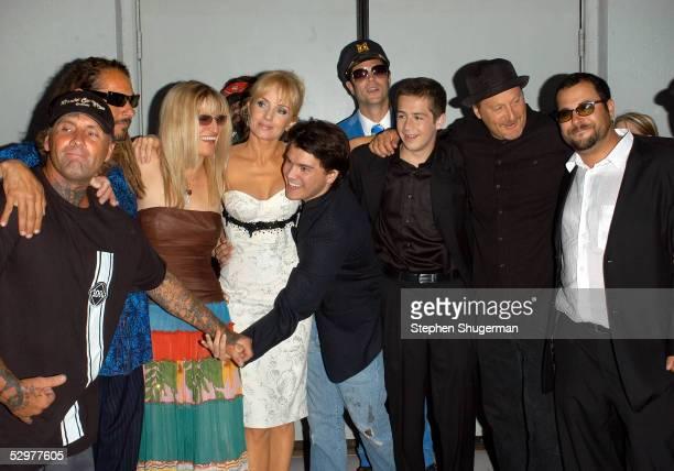 Original Z-Boys pro-skater Jay Adams, Tony Alva, Director Catherine Hardwicke, actress Rebecca De Mornay, actor Emile Hirsch, Johnny Knoxville ,...