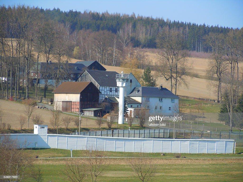 Ehemalige innerdeutsche Grenze in Mödlareuth