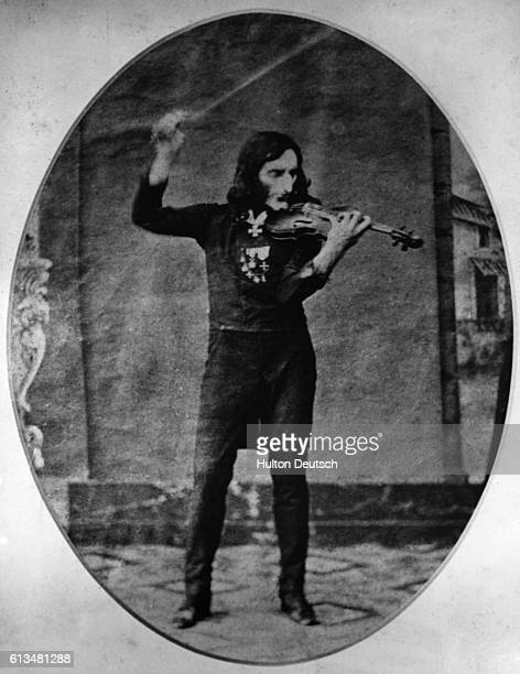 Originally thought to be a photo of the Italian violinist Niccolo Paganini This photo was actually forged by 2 men in the 1890s