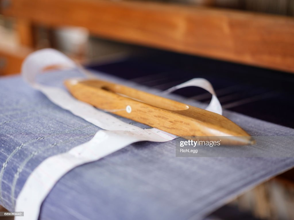 Orimono Textile Shop in Okinawa Japan : Stock Photo