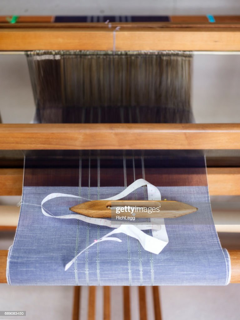 Orimono Textile Shop in Okinawa Japan : Stock Photo