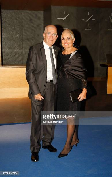 Oriol and Rosa Tous attends the 60th Planeta Awards on October 15, 2011 in Barcelona, Spain.