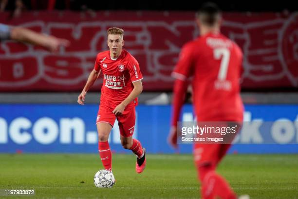 Oriol Busquets of FC Twente during the Dutch Eredivisie match between Fc Twente v Sparta at the De Grolsch Veste on February 1 2020 in Enschede...