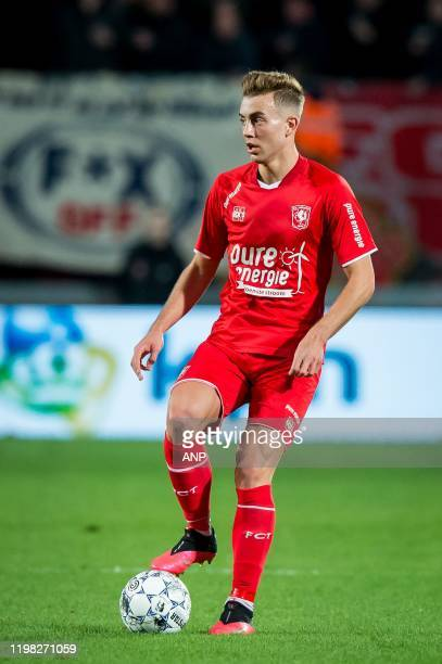 Oriol Busquets of FC Twente during the Dutch Eredivisie match between FC Twente Enschede and Sparta Rotterdam at De Grolsch Veste Stadium on February...