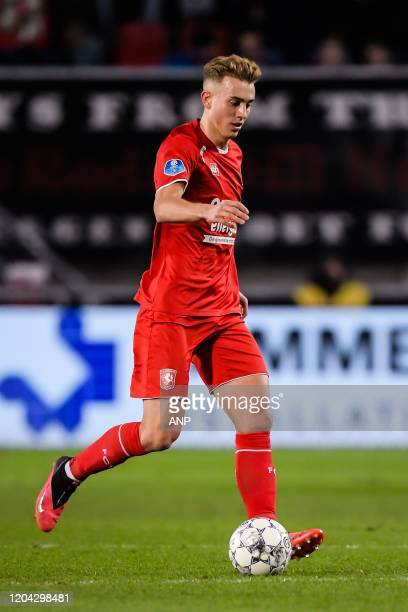 Oriol Busquets of FC Twente during the Dutch Eredivisie match between FC Twente Enschede and sc Heerenveen at De Grolsch Veste Stadium on February 29...