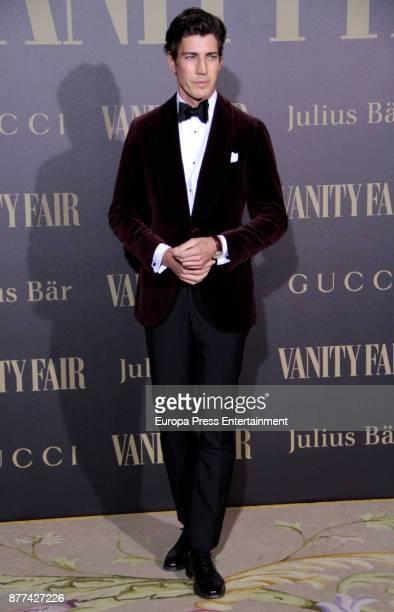 Oriol Elcacho attends the gala 'Vanity Fair Personality of the Year' to Garbine Muguruza at Ritz Hotel on November 21 2017 in Madrid Spain