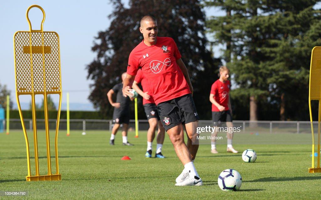 Southampton Pre-Season Training Camp : News Photo
