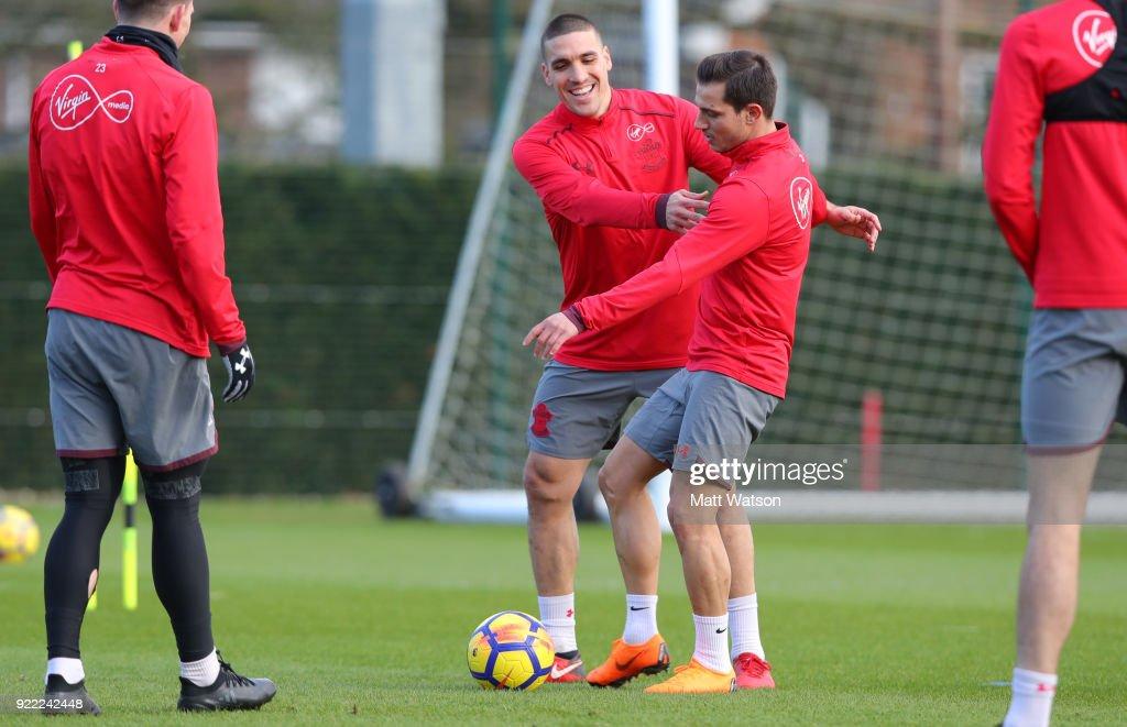 Southampton Training Session : News Photo