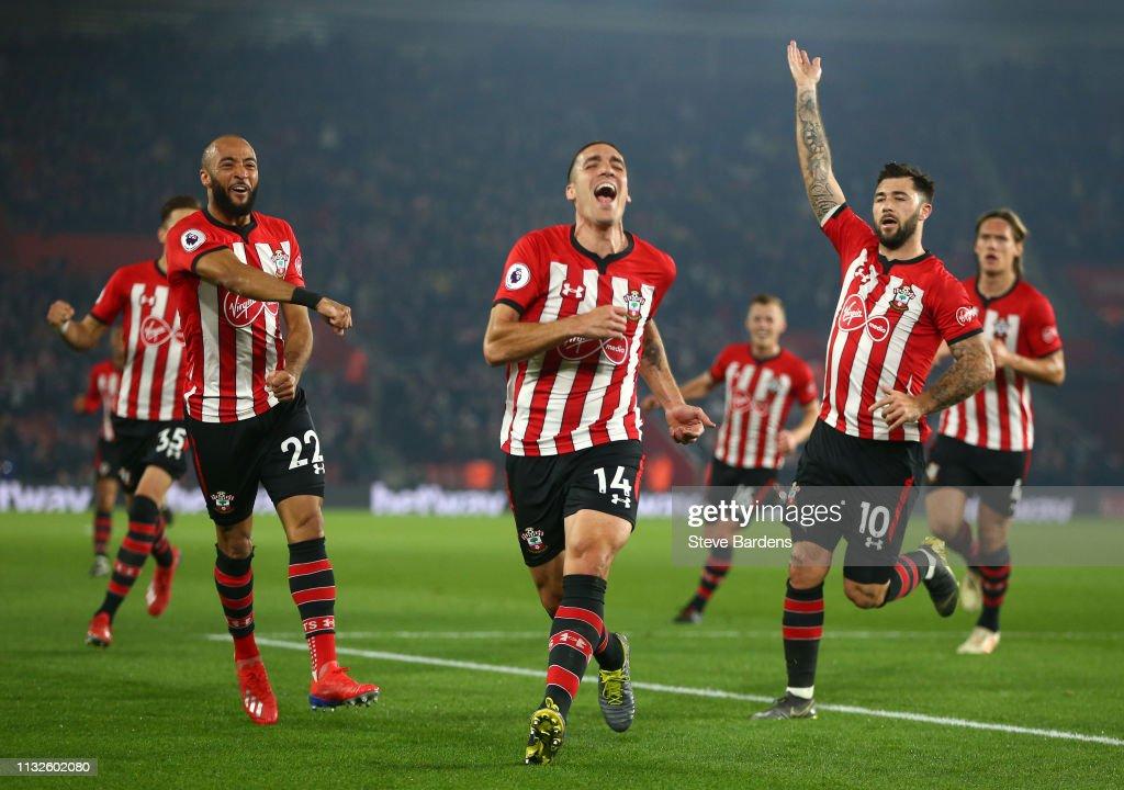 GBR: Southampton FC v Fulham FC - Premier League