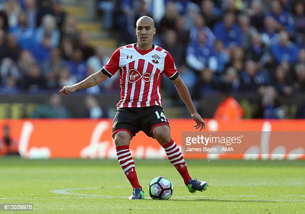 Oriol Romeu of Southampton during the Premier League match between Leicester City and Southampton at The King Power Stadium on October 2 2016 in...