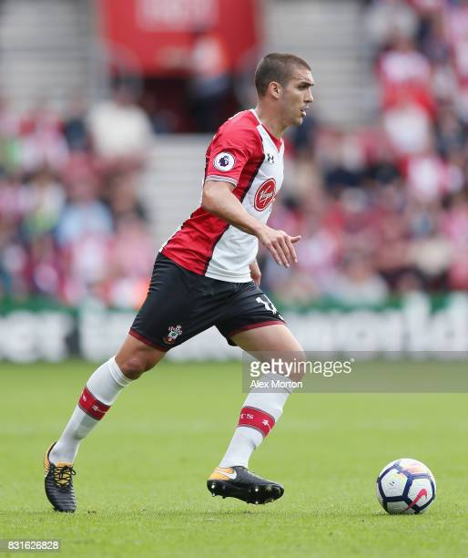 Oriol Romeu of Southampton during the Premier League match between Southampton and Swansea City at St Mary's Stadium on August 12 2017 in Southampton...