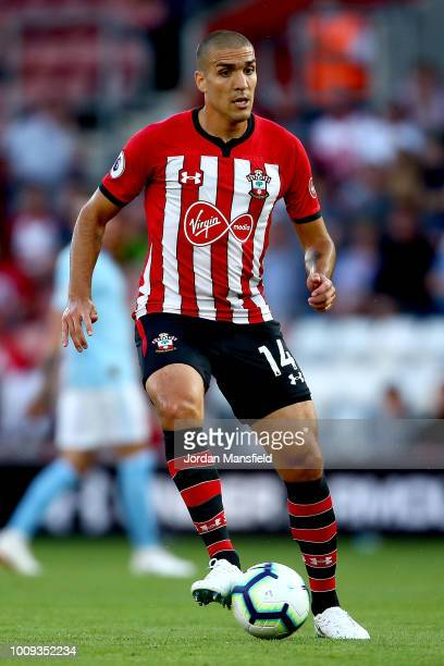 Oriol Romeu of Southampton in action during the PreSeason Friendly match between Southampton and Celta Vigo at St Mary's Stadium on August 1 2018 in...