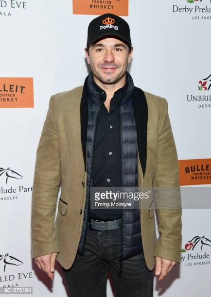 Oriol Servia attends the SixthAnnual Star Studded Unbridled Eve Gala at Bardot on January 4 2018 in Hollywood California