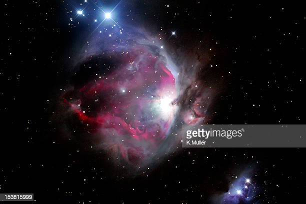 orion nebula - nebula stock pictures, royalty-free photos & images