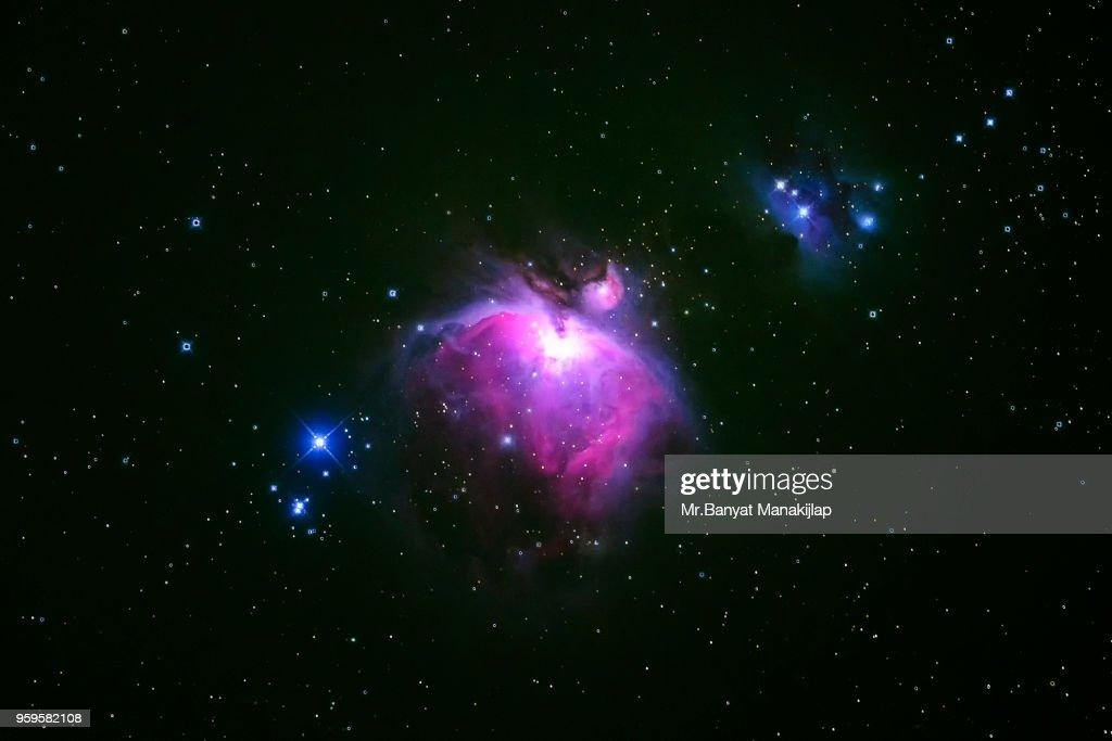 M42 Orion Nebula : Stock-Foto