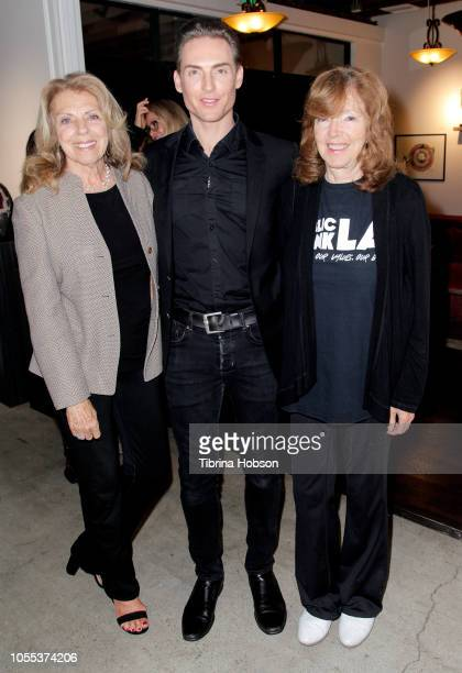 Orion Solarion attends 'Find Your Voice LA One Earth One Voice' a night of art and activism benefit for YES on B on October 29 2018 in Los Angeles...