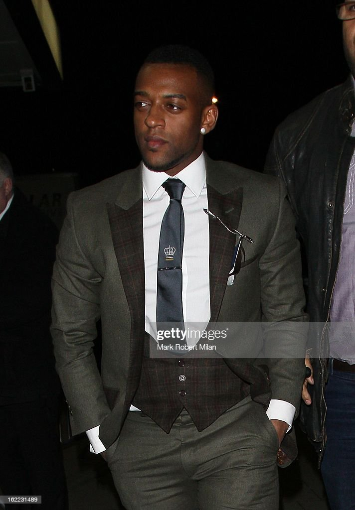 Oritse Williams at The Kentish Town forum for Justin Timberlakes live show on February 20, 2013 in London, England.