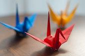 orizuru paper crane made from origami