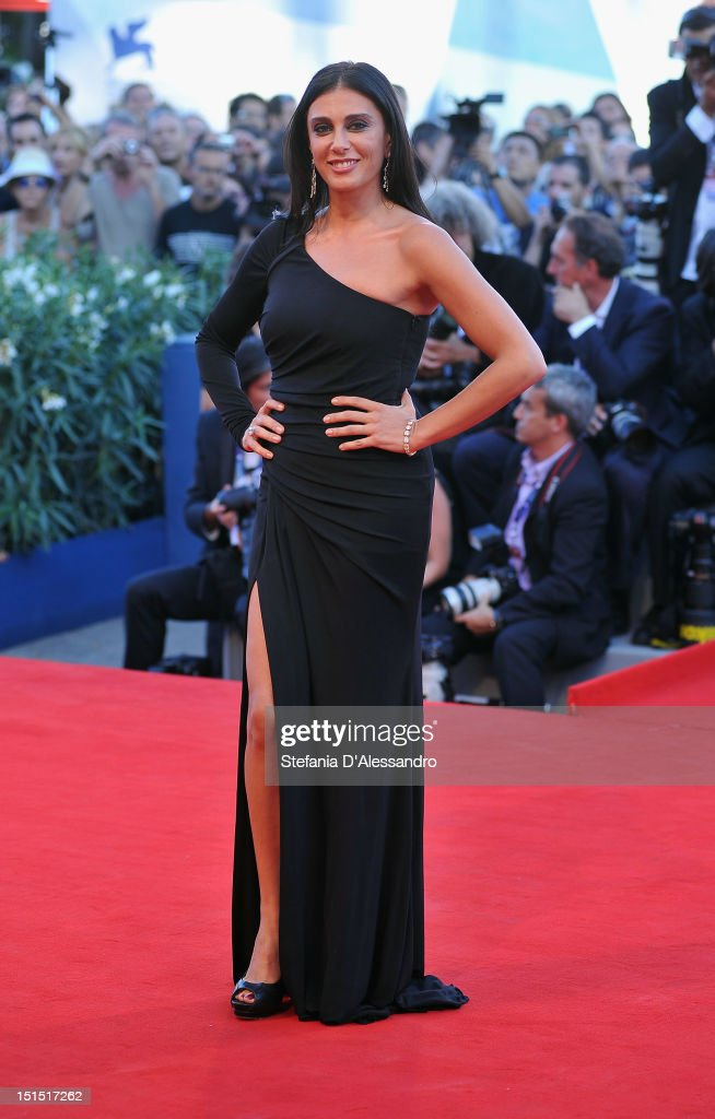 Orizzonti Jury member Nadine Labaki attends Award Ceremony And 'L'Homme Qui Rit' Arrivals during The 69th Venice Film Festival at the Palazzo del Cinema on September 8, 2012 in Venice, Italy.