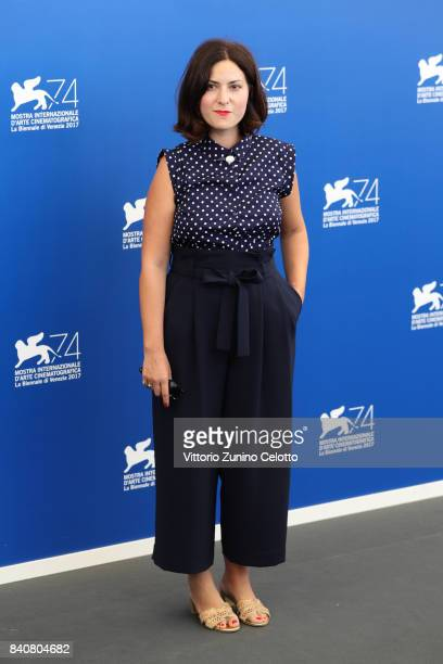 'Orizzonti' jury member Rebecca Zlotowski attends the Jury photocall during the 74th Venice Film Festival at Sala Casino on August 30 2017 in Venice...