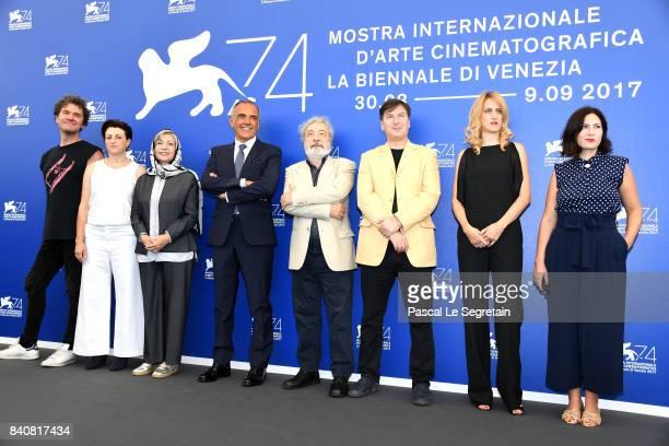 'Orizzonti' jury members Mark Cousins Ami Canaan Mann Rakhshan BaniEtemad Venice Film Festival Director Alberto Barbera president Gianni Amelio...